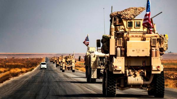 حمله راکتی به کاروان آمریکایی در سوریه