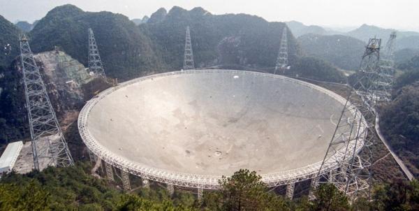 شناسایی بیش از 200 تپ اختر با تلسکوپ چینی