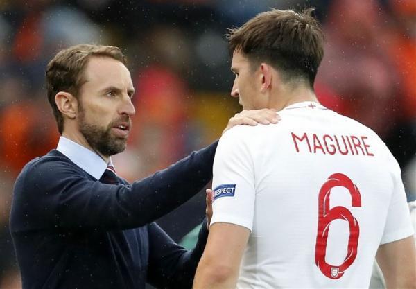 یورو 2020، مگوایر برترین بازیکن ملاقات انگلیس - آلمان شد