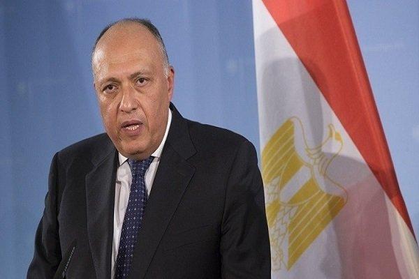 موضع گیری وزیر خارجه مصر درباره روابط با قطر